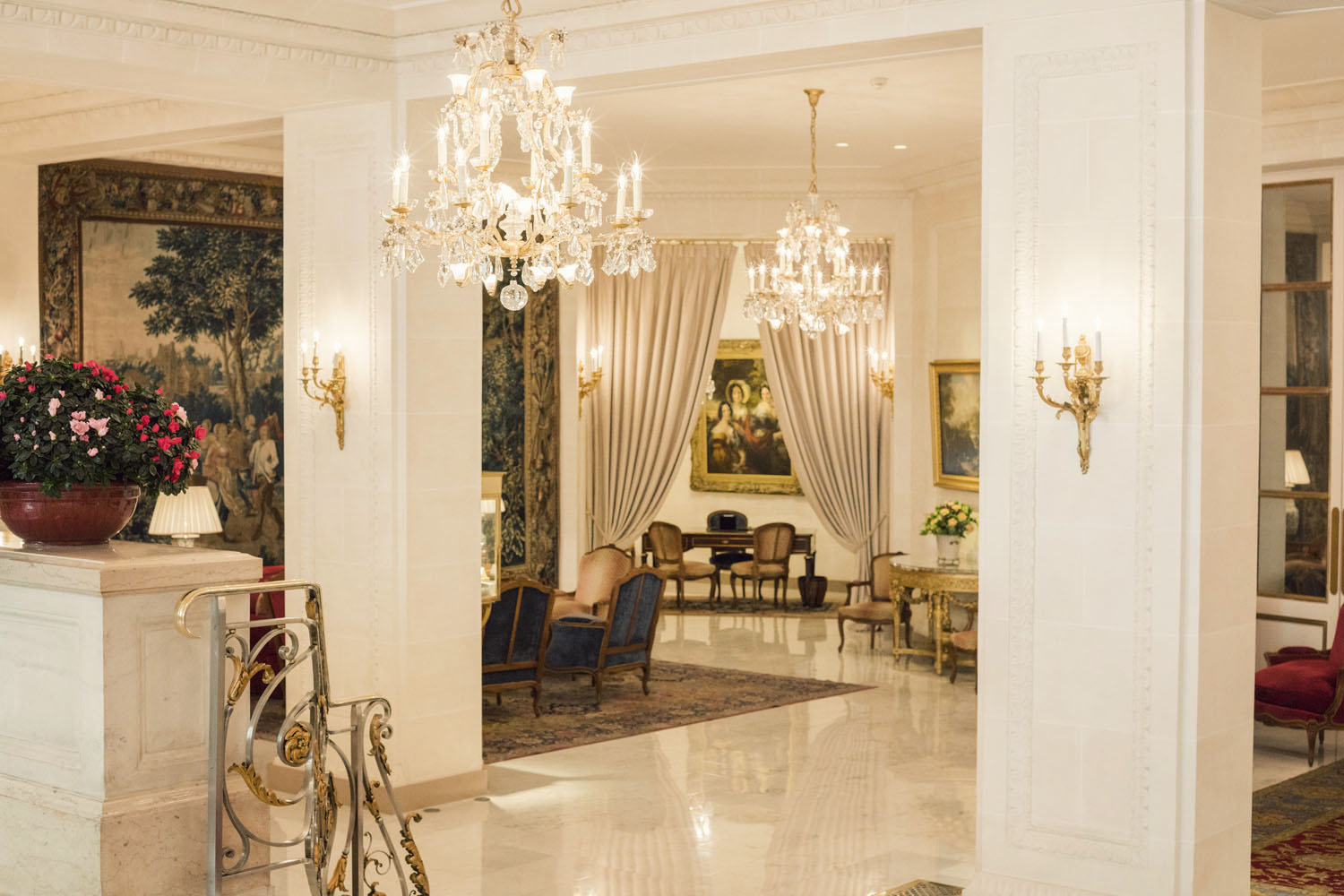 A stay at the historic Le Bristol Hotel Paris.